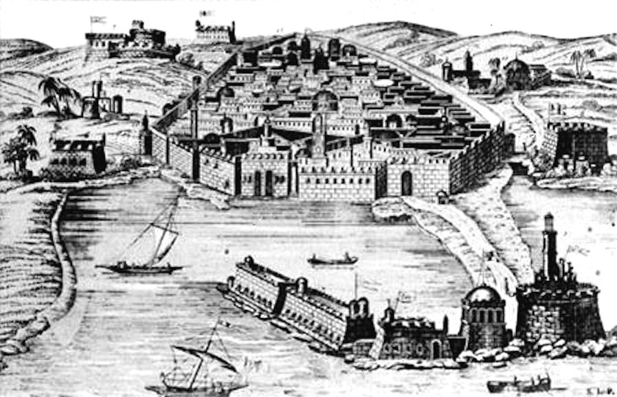 Old algiers 16th century